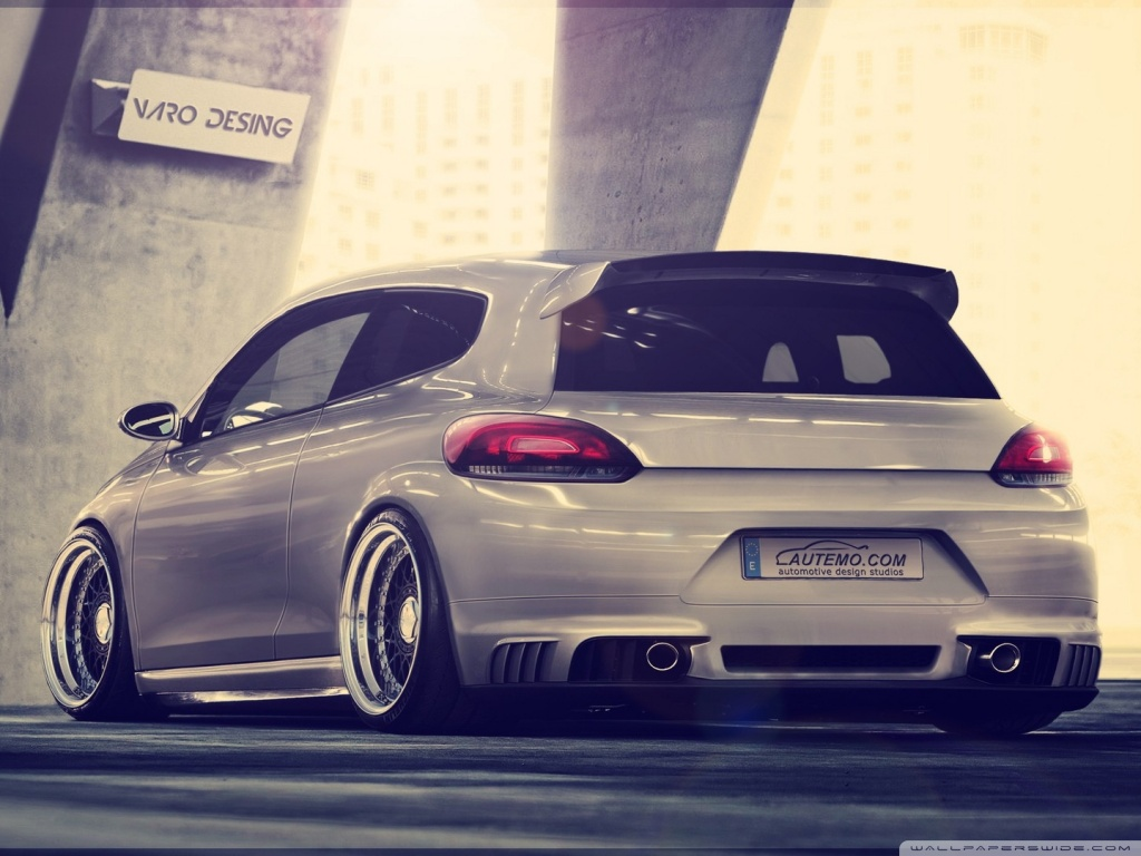 latest and new sport car wallpapers volkswagen scirocco hd wallpaper. Black Bedroom Furniture Sets. Home Design Ideas
