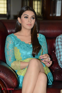 Hansika Motwani Picture Gallery in Short Dress at Something Something Movie Press Meet 0024