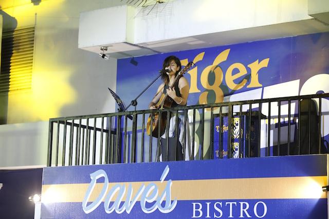 Singer Talitha Tan