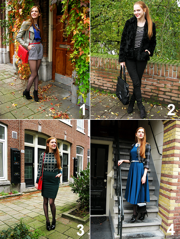 Fashion blogger outfit ootd amsterdam 50s vintage style recap november fall autumn