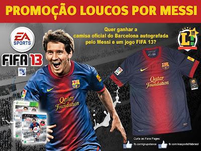 """Promoção """"Loucos por Messi"""""""