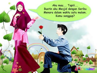 Akhwat dalam cerita Bandung Bondowoso