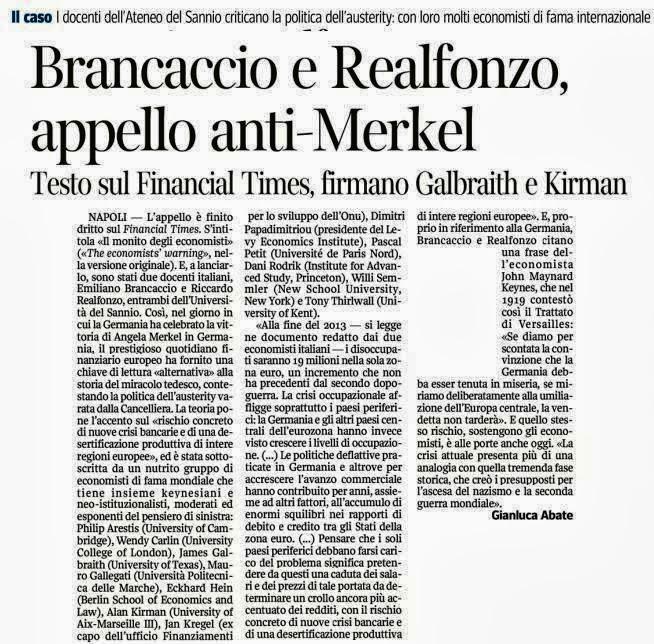 Appello anti-Merkel