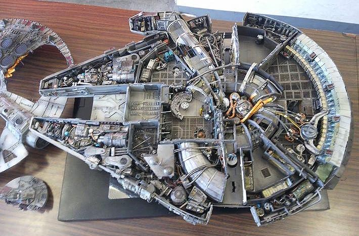 Interieur Faucon Millenium Of Sextant Blog 172 39 Star Wars 39 7 The Force Awakens