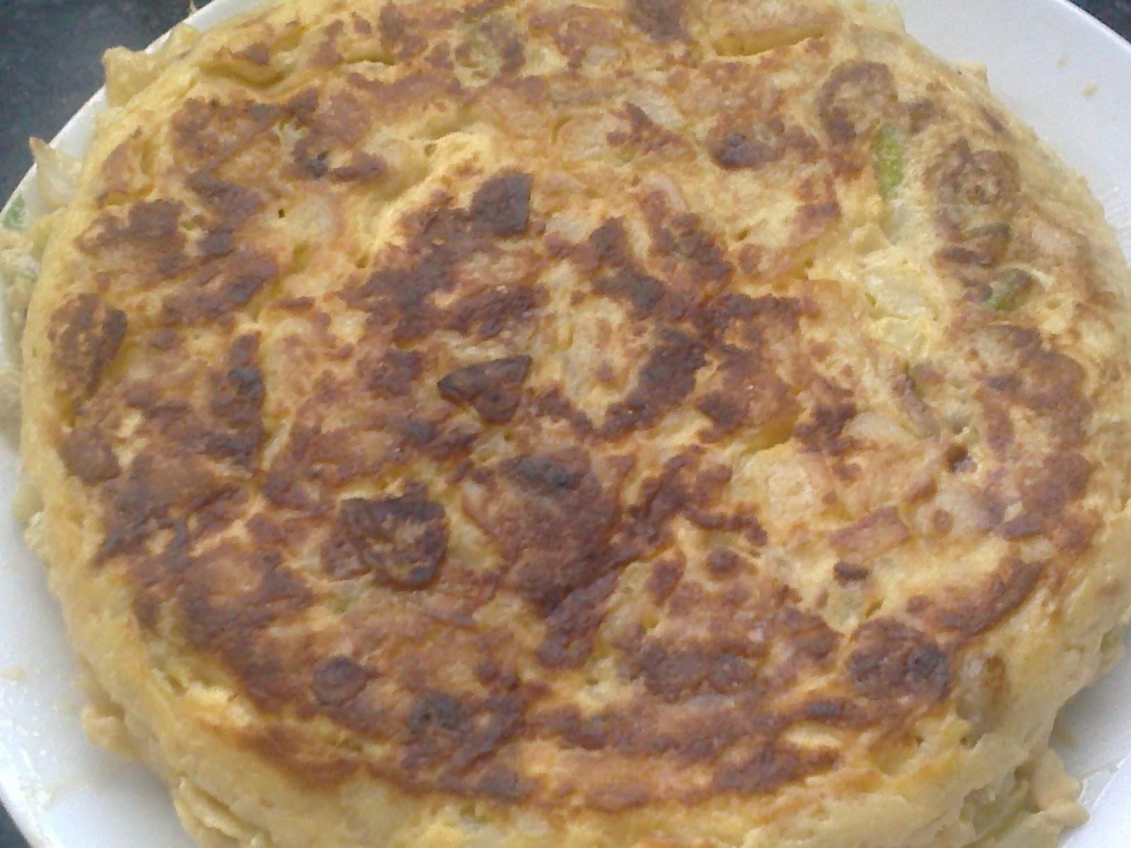 Marujas primerizas tortilla de patatas cebolla y calabacin - Tortilla de calabacin y cebolla ...