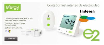medidor electricidad efergy precios comprar oferta autoconsumo