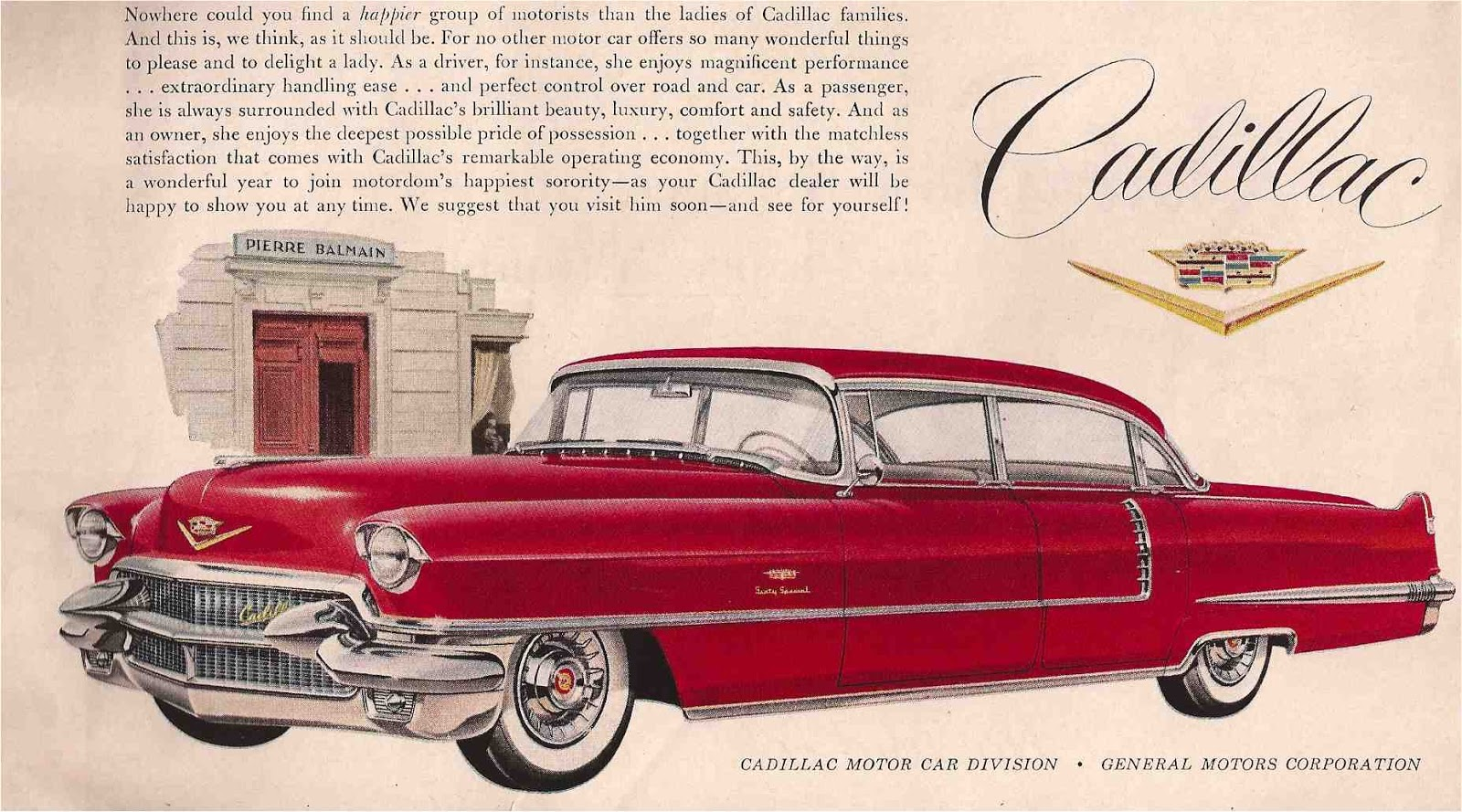 Vintage Advertising: OF THE CADILLAC