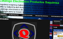 CATALOGO ELECTRONICO DE PRODUCTOS SAQUIMSA
