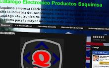 CATALOGO ELECTRONICO DE PRODUCTOS SAQUIMSA