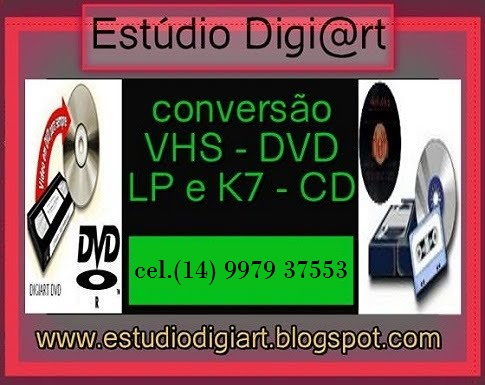 CONVERTA SEUS VÍDEOS EM DVD