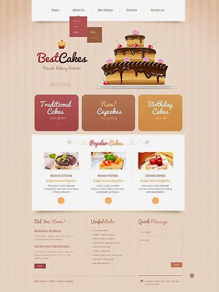 thiết kế web bán hàng bánh ngọt chuyên nghiệp