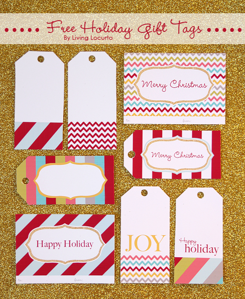 Christmas Goodness: Free Printable Holiday Tags
