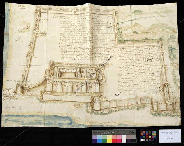 Fortificaciones, baluartes y planos de Cádiz y sus