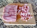 Chec aperitiv preparare reteta - taiere sunca presata
