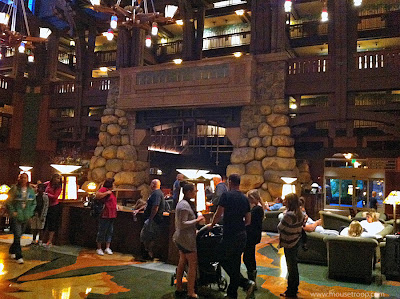Grand Californian lobby Disneyland Resort DCA Downtown