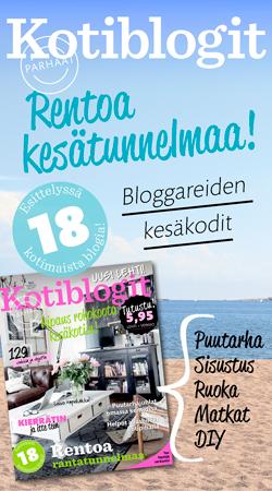 Matkaunelmia matkablogi mukana Parhaat Kotiblogit -lehdessä