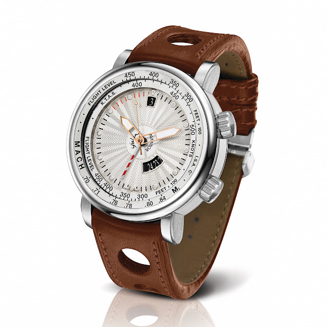 Yeslam Aviator III Watch brown