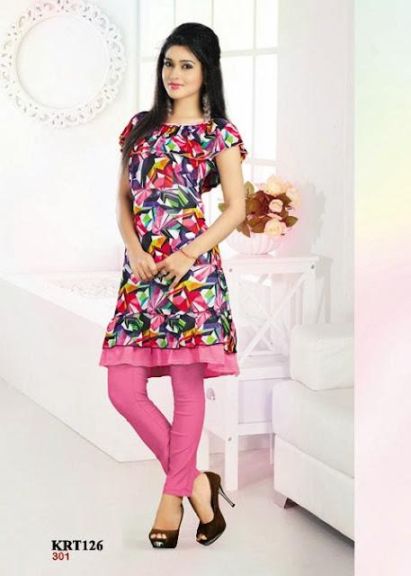 Buy Stylish Georgette Designer Kurti – Supplier