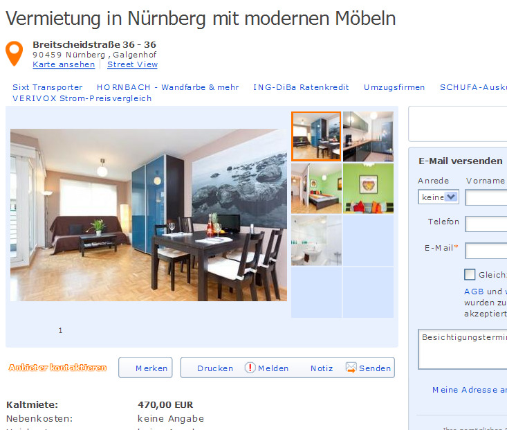Wg Zimmer In Mannheim: *Gegen Wohnungsbetrug *against Rental