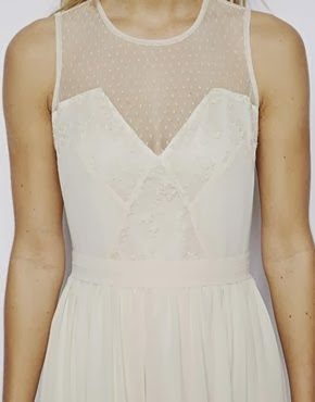 Asos Lace Midi Dress - Affordable Short Wedding Dresses - Age Old Youngster