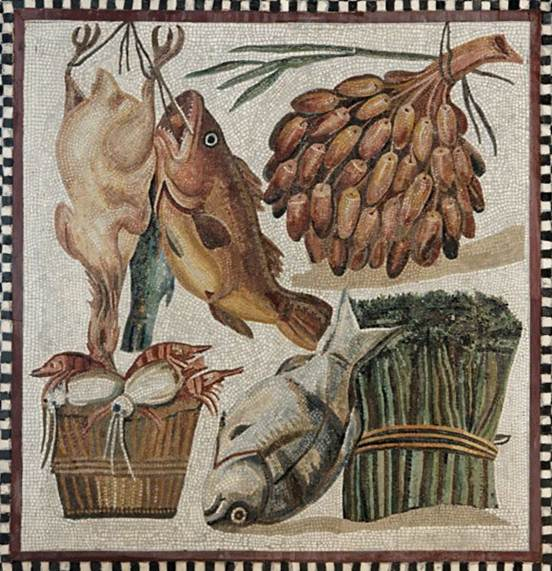 Recipe for a roman diet powered by osteons for Ancient roman cuisine