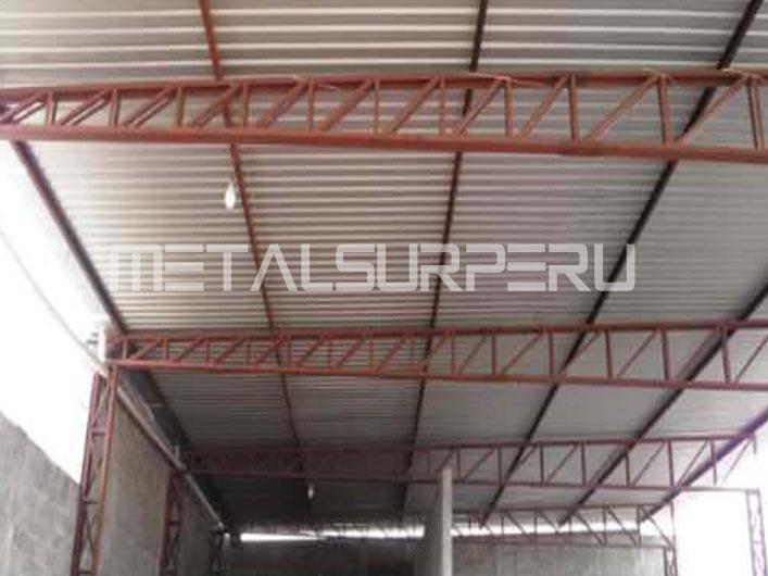 Cerchas metalicas para techos materiales de construcci n for Como hacer una estructura metalica para techo