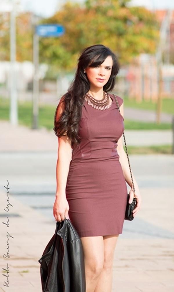 look do dia , vestido com couro , vestido de festa , shirley medeiros , super presumida , look com preto , vestido curto , colar zara