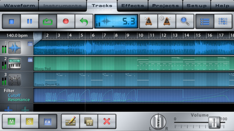 Music Studio For iPhone,iPad