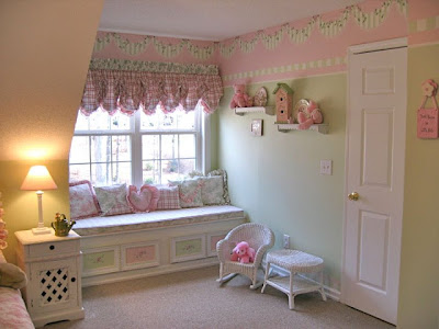 Cuartos de ni a en rosa dormitorios con estilo Shabby chic girls bedroom furniture