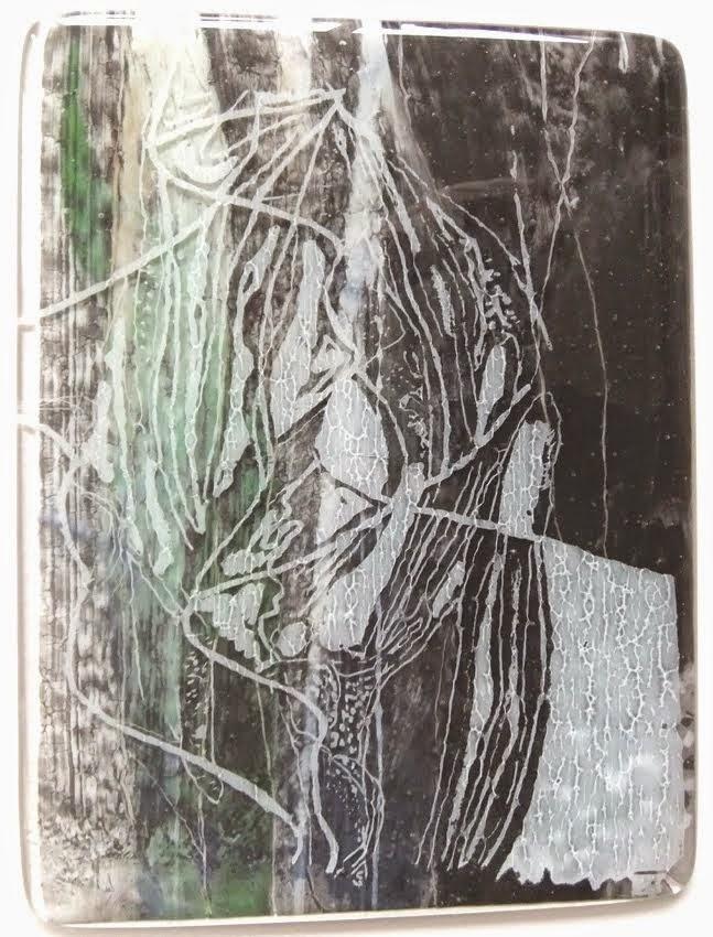 Tulp op glas