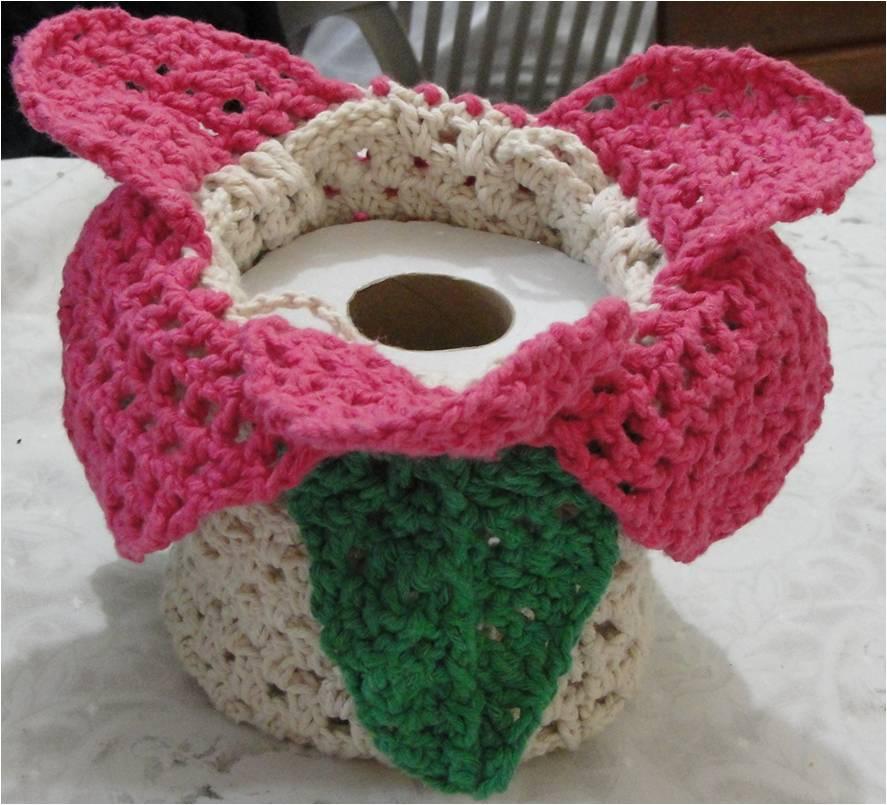 Rosi Croch Porta Papel Higi Nico Flor