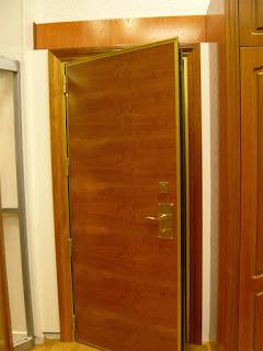 Montaje de puertas de madera