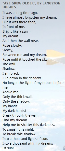 Travel Through The World Of English As I Grew Older By - Impossible poem