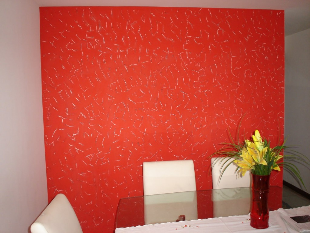 Pinturas e texturas ito mais uma sala de estar de um cliente - Pinturas para paredes ...