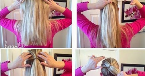 Fluffy Ponytail Hairstyle Tutorial Calgary Edmonton