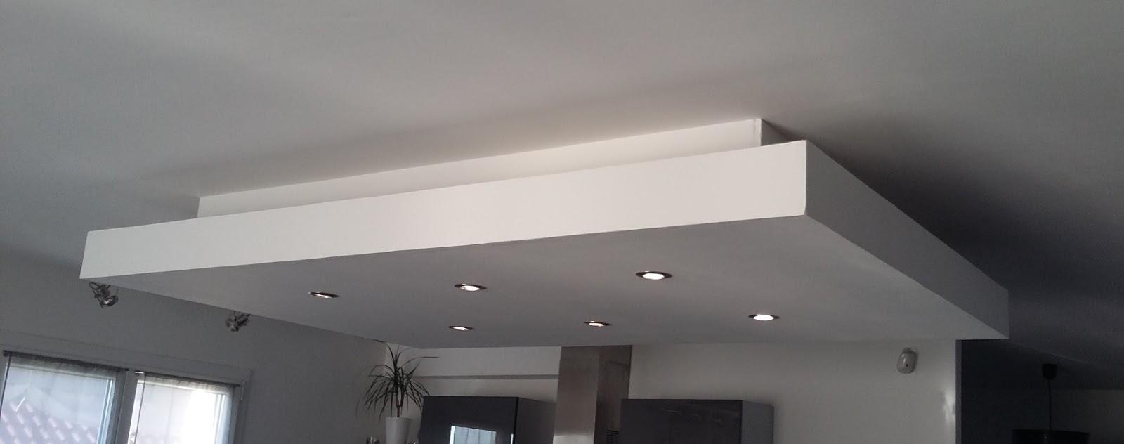 bricolage : de l'idée à la réalisation. : plafond descendu (caisson