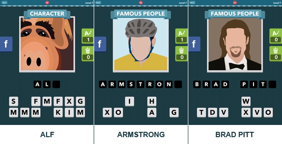 Icomania: cheats, hints, oplossingen en antwoorden - Level 7
