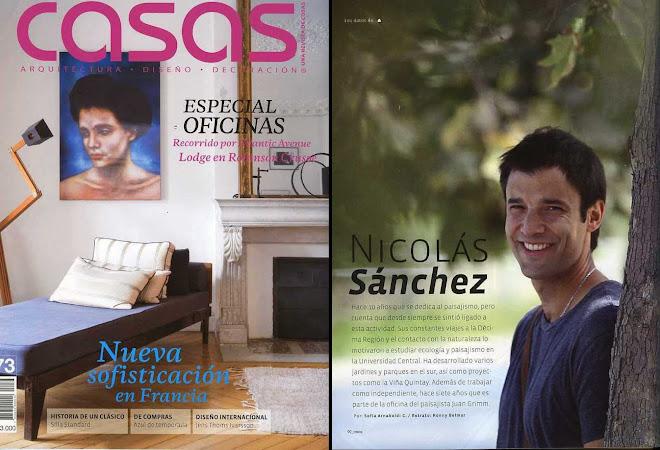 Entrevista Revista Casas-Cosas