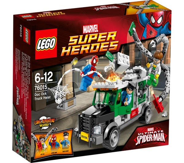 LEGO Ref. 76015 El Atraco de Doc Ock™ al Camión Acorazado