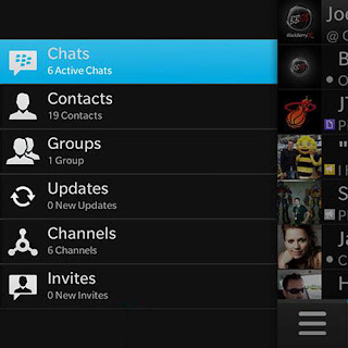 BlackBerry Messenger (BBM) BBM Channels v10.2.0.12 support for BB10 devices