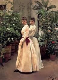 DOS CHICAS DE 1890