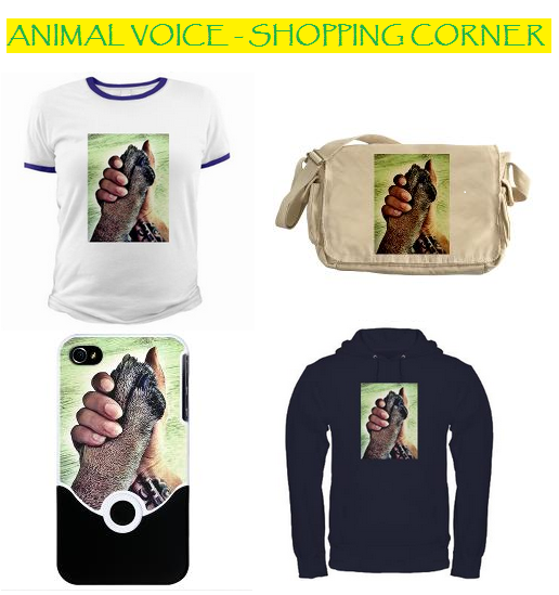 ANIMAL VOICE - SHOPPING CORNER @ CAFEPRESS