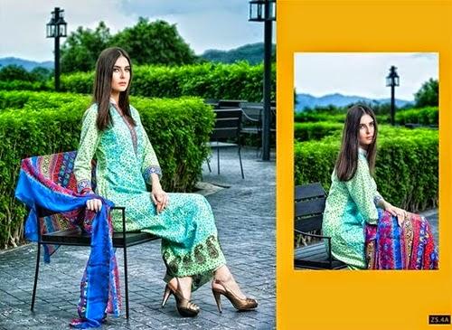 ZS Textiles Designer Eid Dress Collection