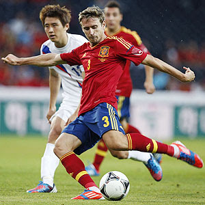 Nacho Monreal Spain Arsenal