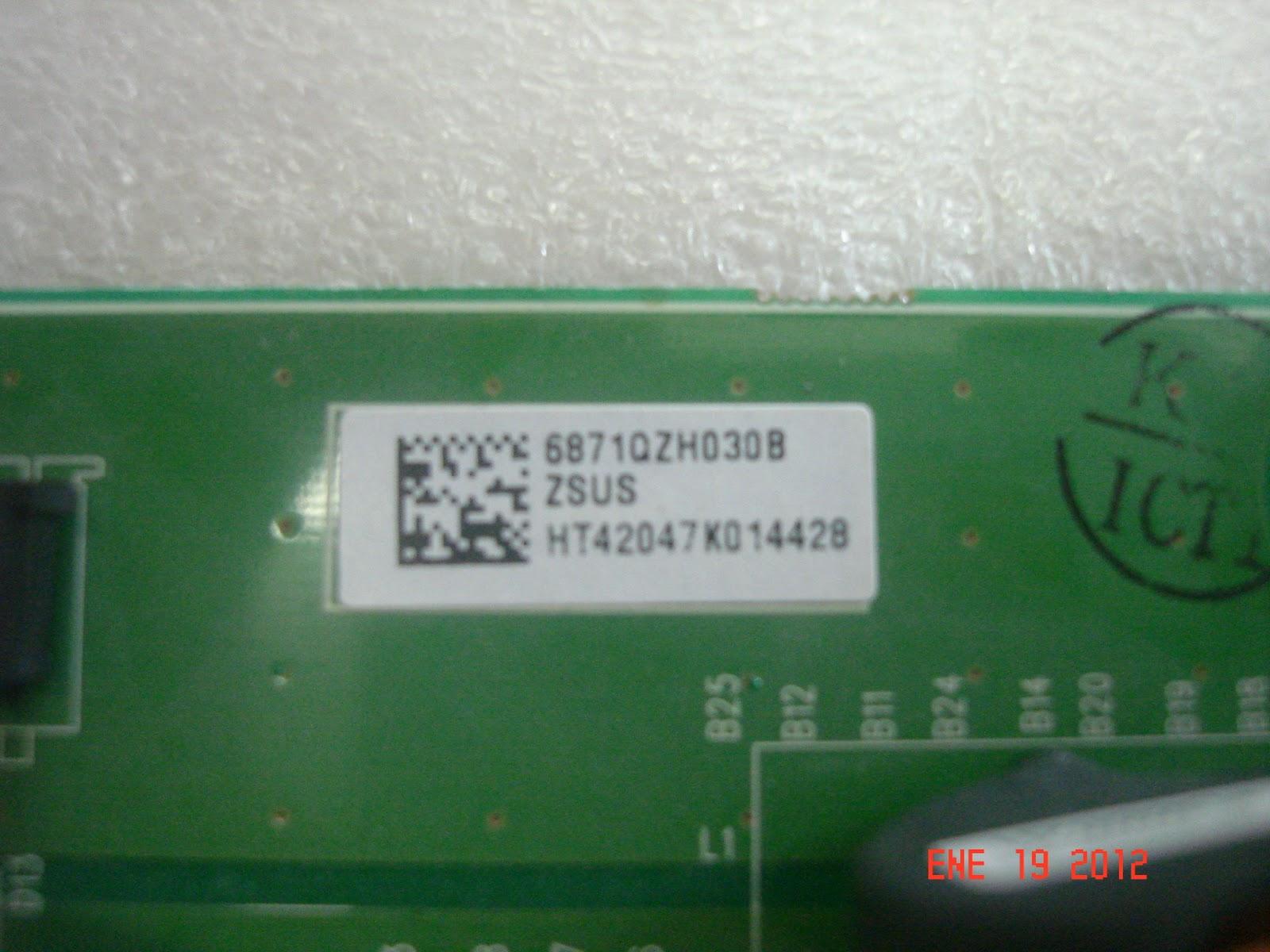 Xpress tv service 6871qzh030b - Modulos para televisores ...