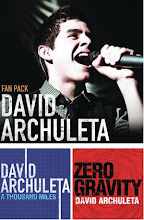 9 de Junio de 2009. David Archuleta Fan Pack. Descarga digital.