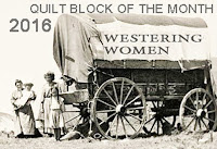 Westering Women BOM---One More Month Till We Get to California