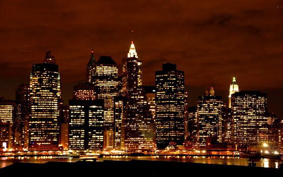 Wallpaper Kota New York