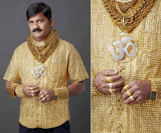 Datta Phuge, camisa más cara