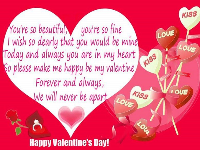 happy valentines day 2018 poems images quotes messages wishes, Ideas
